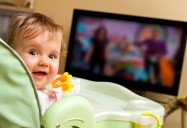 A TV in the Baby Bottle