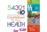54321+10 Count Down to Your Health for Kids