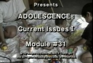 Adolescence: Current Issues I