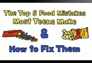 Top 5 Food Mistakes Most Teens Make & How to Fix Them