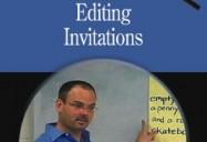 Editing Invitations