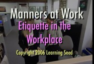 Manners at Work (Revised)
