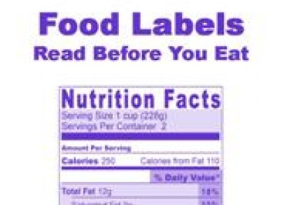 titles food labels powerpoint produced by learning seed