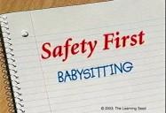 Safety First Babysitting
