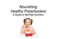 Nourishing Healthy Preschoolers