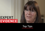Top Tips: Expert Evidence Series