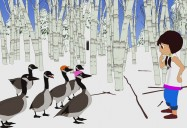 The Young Girl and the Geese (Ojibway): Amy's Mythic Mornings