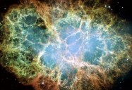 Colour and Violent Endings: Hubble's Canvas Series