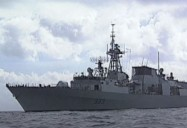 Computer Warship - Canadian Navy on NATO Mission: Forbidden Places Series