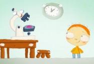 Le jour où Henri a rencontré... un microscope