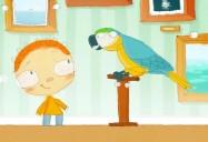 Le jour où Henri a rencontré... un perroquet