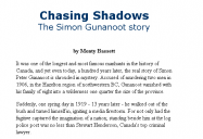 Chasing Shadows: The Simon Gunanoot Story