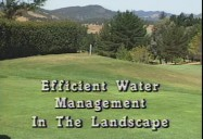 EFFICIENT WATER MANAGEMENT IN THE LANDSCAPE