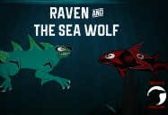 Raven and the Sea Wolf: Legendary Myths - Raven Adventures Series