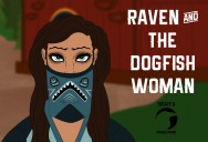 Raven and the Dogfish Woman: Legendary Myths - Raven Adventures Series